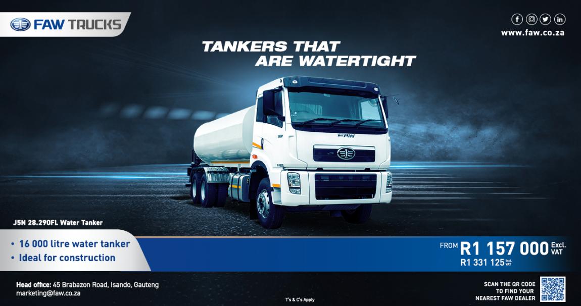 J5N 28.290FL Water Tank